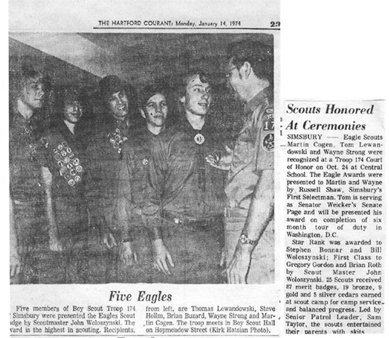 Eagle Scouts 1974