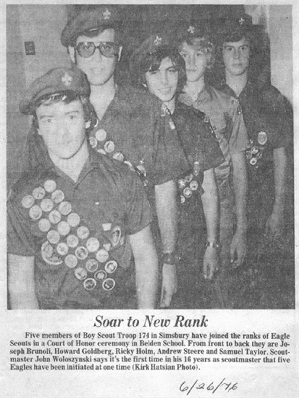 Eagle Scouts 1976