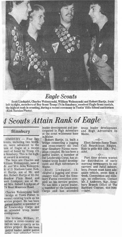 Eagle Scouts 1978