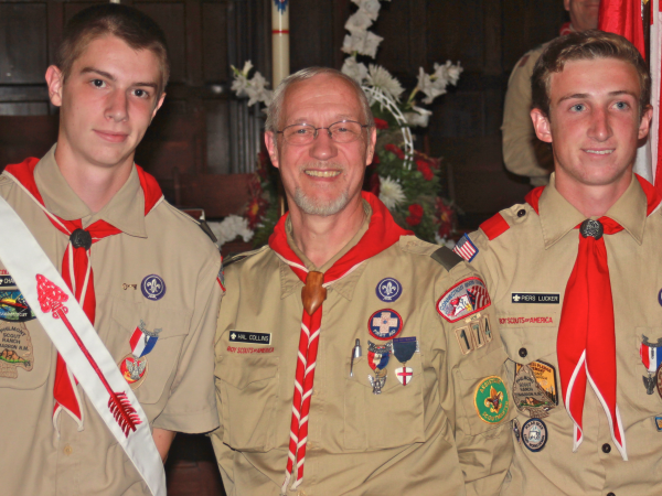 New Eagle Scouts, 2013